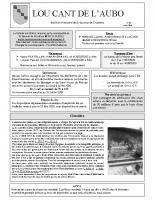 bulletin d'infos n°38