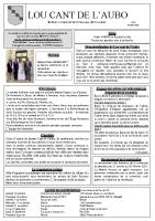 bulletin d'infos n°39